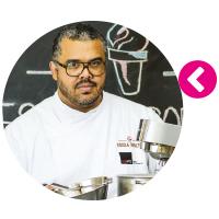 Francisco Sant´Ana, mestre sorveteiro e empresário da Escola Sorvete