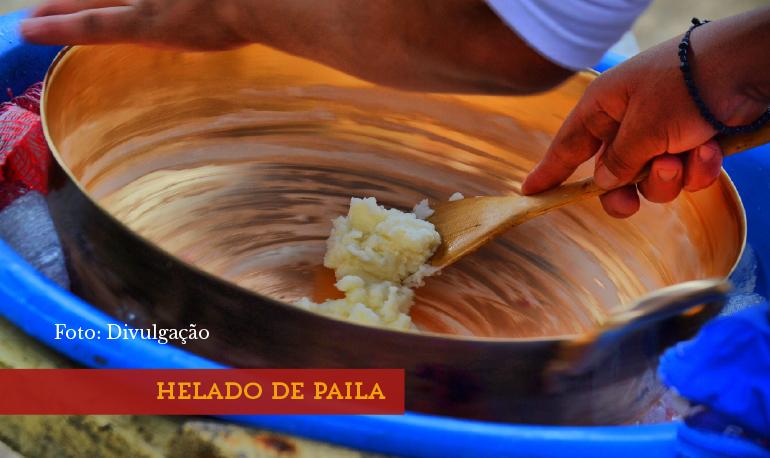 Helado de Paila