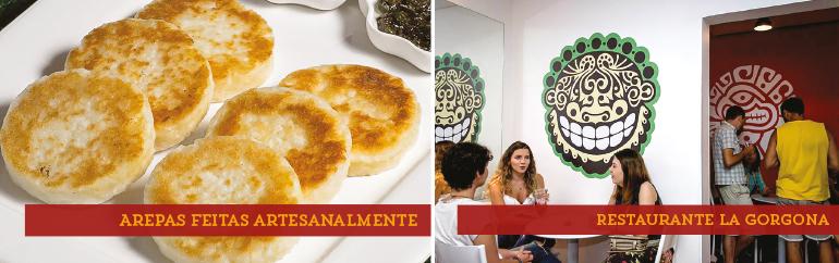 Arepas colombianas- restaurante La Gorgona