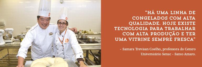 Samara Trevisan Coelho, professora do Centro Universitário Senac - Santo Amaro.