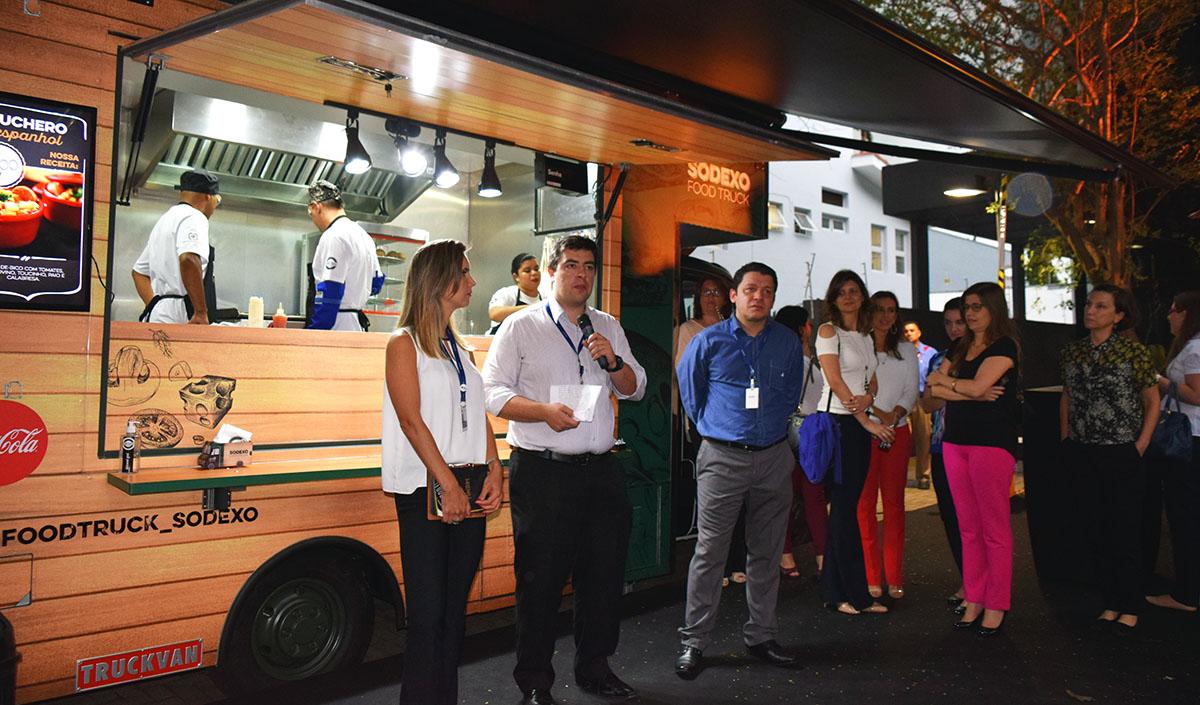 Food Truck Para Empresas Sodexo Lan A Nova Solu O Em Alimenta O