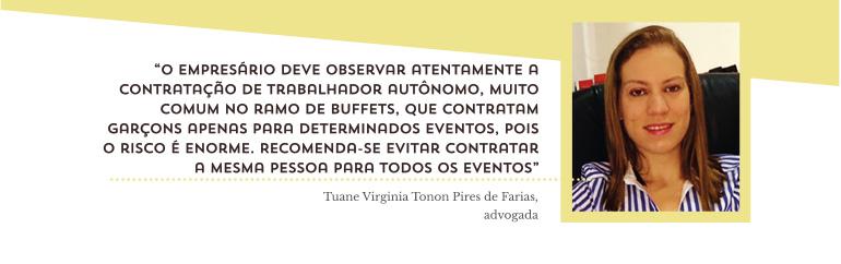 Tuane Virginia Tonon Pires de Farias, da Tonon Advogados